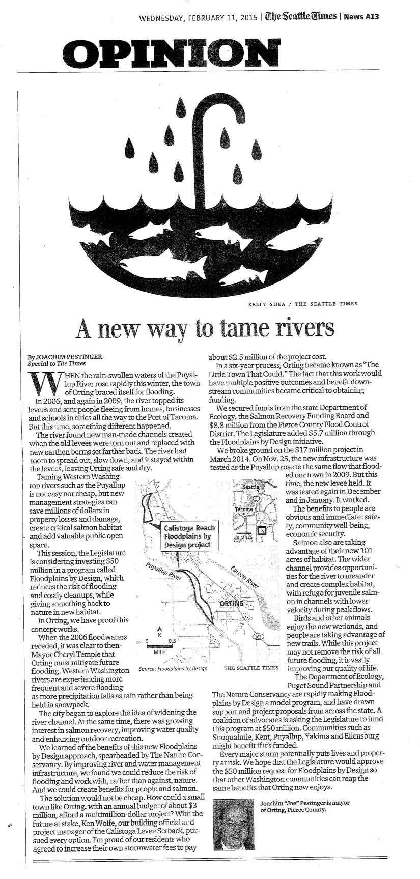 Seattle Times Article _ River Project